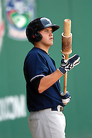 Scranton-Wilkes Barre Yankees INF BRANDON LAIRD during a game vs. the Pawtucket Red Sox at McCoy Stadium in Pawtucket, Rhode Island on August 8, 2010.  Photo By Ken Babbitt/Four Seam Images