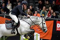 ZUIDBROEK - Paardensport, ICCH Zuidbroek, springen internationaal 1.40 klassiek, 03-01-2019,  Albert Zoer met Freedom