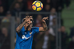 Damian Nicolas Suarez Suarez of Getafe CF in action during the La Liga 2017-18 match between Getafe CF and Valencia CF at Coliseum Alfonso Perez on December 3 2017 in Getafe, Spain. Photo by Diego Gonzalez / Power Sport Images