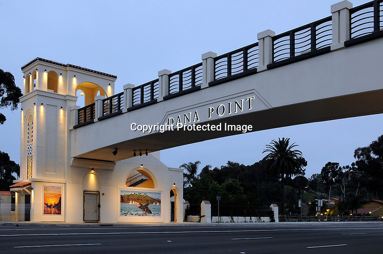 Stock Photo of Dana Point Bridge