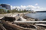 Seattle, Olympic Sculpture Park, waterfront, public beach, art, Elliott Bay, Myrtle Edwards Park, Pacific Northwest, Washington State,