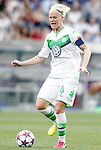 VfL Wolfsburg's Nilla Fischer during UEFA Women's Champions League 2015/2016 Final match.May 26,2016. (ALTERPHOTOS/Acero)