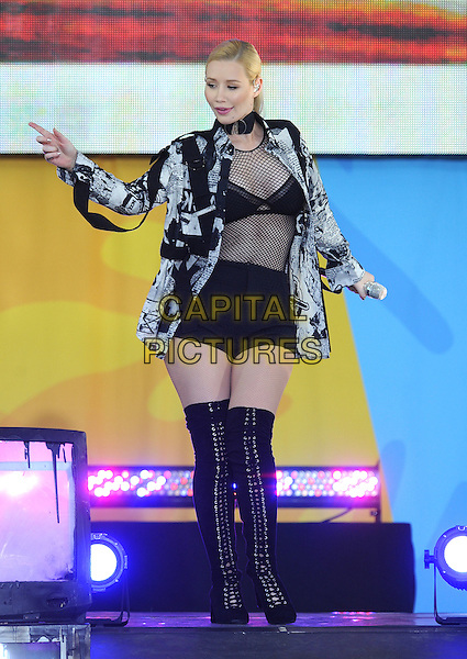 NEW YORK, NY - June 10: Iggy Azalea  performs in Central Park at Rumsey Playfield as part of the Good Morning America Summer Concert Series on June 19  in New York City .  <br /> CAP/MPI/PAL<br /> &copy;PAL/MPI/Capital Pictures