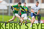Sean T Dillon Kerry in action against Alan Duggan IT Tralee in the McGrath cup at Austin Stack Park on Sunday.