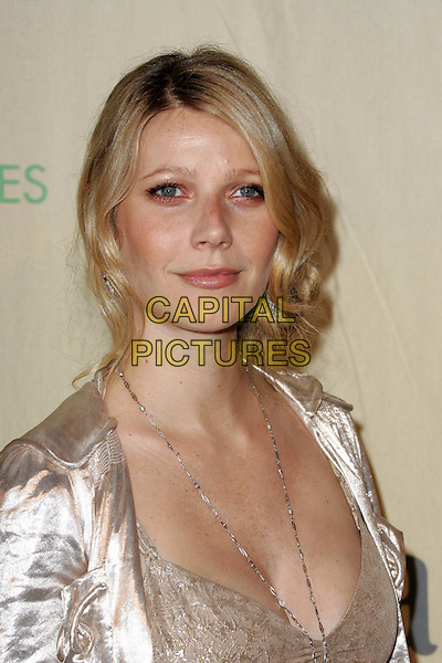 "GWYNETH PALTROW.Attend ""A Family Affair: Women in Film celebrates The Paltrow Family"" 2004 Crystal & Lucy Awards held at The Westin Century Plaza Hotel in Century City, California.June 18, 2004.headshot, portrait, chain, necklace.www.capitalpictures.com.sales@capitalpictures.com.©Debbie VanStory/Capital Pictures.."