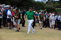 Marc Leishman (International) walking to the 4th tee during the Second Round - Foursomes of the Presidents Cup 2019, Royal Melbourne Golf Club, Melbourne, Victoria, Australia. 13/12/2019.<br /> Picture Thos Caffrey / Golffile.ie<br /> <br /> All photo usage must carry mandatory copyright credit (© Golffile | Thos Caffrey)