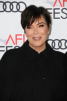 12 November  2017 - Hollywood, California - Kris Jenner. AFI FEST 2017 Screening Of &quot;The Disaster Artist&quot; held at The Beverly Hilton Hotel in Hollywood. <br /> CAP/ADM/BT<br /> &copy;BT/ADM/Capital Pictures