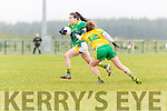 Kerry v Donegal  in Rathmore on Sunday.