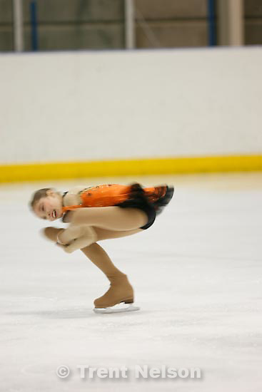 Trent Nelson  |  The Salt Lake Tribune.Elissa Fairbanks competes at the 2011 U.S. Junior Figure Skating Championships in Salt Lake City Thursday, December 16, 2010.