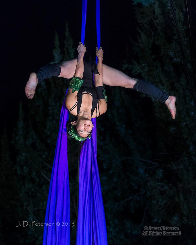 Nori of Sedona Silks Aerial Dance Troupe