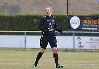 20190907 – PITTEM , BELGIUM : Egem's Marithe Sanders pictured during a women soccer game between Dames DVK Egem  and Union Saint-Ghislain Tertre-Hautrage  on the second round matchday of the Belgian Women's Cup – Beker van Belgie -  season 2019-2020 , saturday 7th September  2019  in Pittem  , Belgium  .  PHOTO SPORTPIX.BE | DAVID CATRY