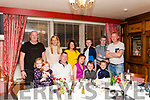 Maria O' Connor Abbeyfeale (seated) celebrating her Birthday with family & friends last Saturday night in Leen's Hotel. <br /> Front: Lauren & Ella Leahy, Declan O' Connor (husband), Maria O' Connor with her children Cian & Michael. <br /> Back: Conor & Jean Leahy, Mary , Ryan, Robbie & Philip Woulfe.