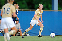 27 August 2011:  FIU's Johanna Volz (5) looks to pass the ball in the first half as the FIU Golden Panthers defeated the University of Arkon Zips, 1-0, at University Park Stadium in Miami, Florida.