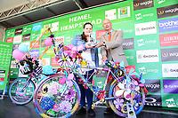 Picture by Simon Wilkinson/SWpix.com - 09/09/2017 - Cycling - OVO Energy Tour of Britain - Stage 7 Hemel Hempstead to Cheltenham -<br /> Bike Art winner