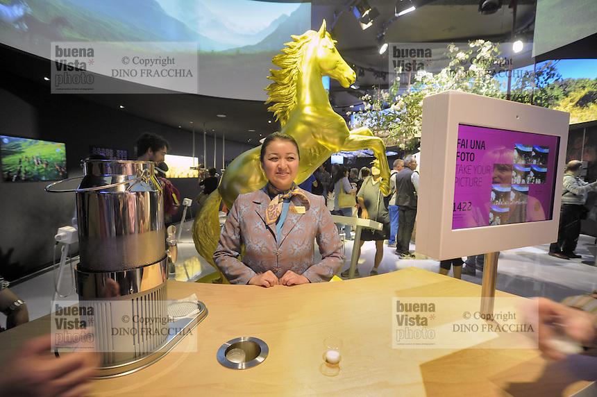 - Milano, Esposizione Mondiale Expo 2015, padiglione del Kazakistan, sede prevista per l'Expo 2017<br /> <br /> - Milan, the World Exhibition Expo 2015, pavilion of Kazakhstan, seat expected for the Expo 2017
