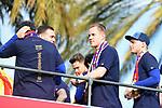 League Santander 2017/2018.<br /> Rua de Campions FC Barcelona.<br /> Marc-Andre Ter Stegen.