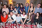 Ellen Ahern from Castlemaine enjoying her Birthday with family and friends at Cassidy's on Saturday.  Front l-r Jennifer Evans, Erin Evans, Seamus Evans, Shane Evans, Helen Ahern, Alannah Evans, Rebecca O'Sullivan.  Back l-r Margaret Murphy, Margaret Moriarty, Keith Evans, Brendan Fitzgerald, Sarah Ahern, James Ahern, Samantha Culloty, Alvin Ahern