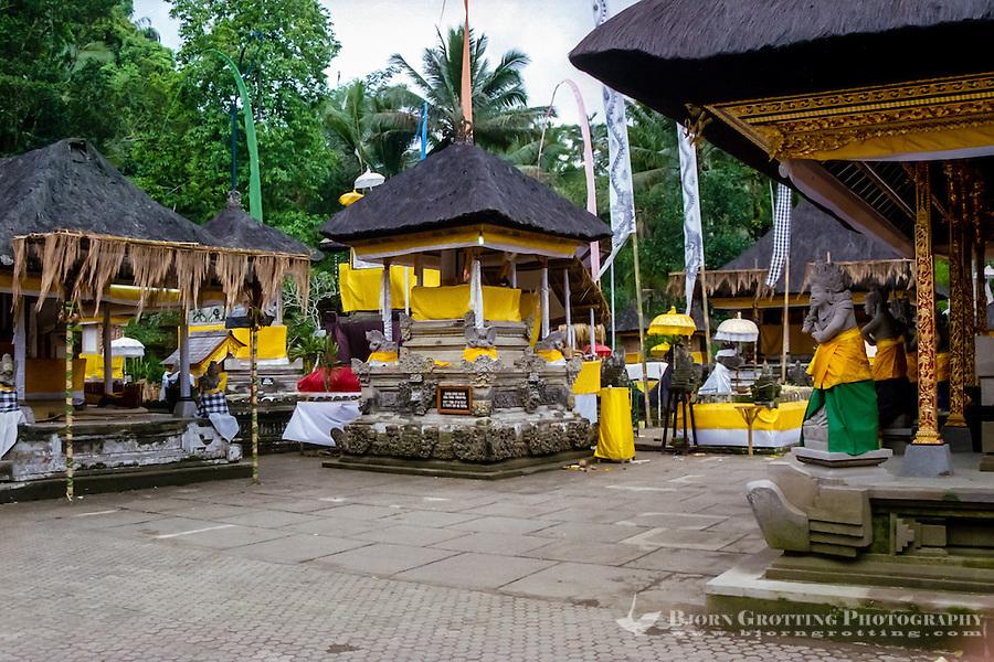 Bali, Gianyar, Tirtha Empul. Pura Tirtha Empul temple close to Tampaksiring. Beautiful decorations.