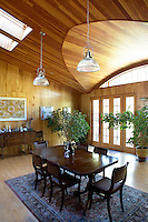 Classic dining area
