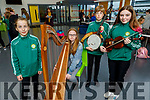 Eliza O'Donnell, Deirbhile O'Carroll, Gerogie O'Donnell and Samantha O'Sullivan, members of the Ballydonoghue CCE taking part in the CCE County finals of Ceol an Gheimhridh in the Duchas Comhaltas Centre, IT Tralee on Saturday.