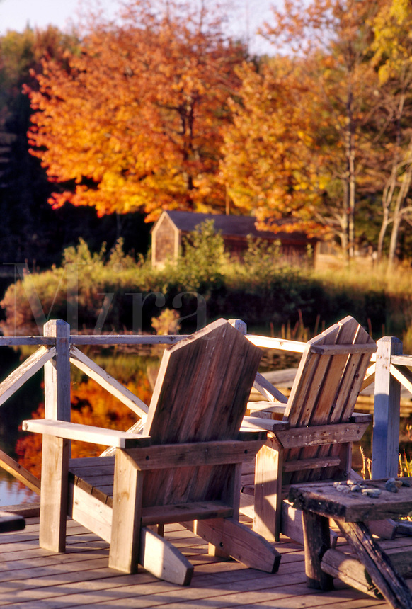Adirondack Chairs in Vermont
