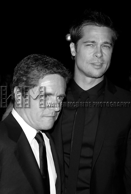 Brad Pitt &amp; Brad Grey attending the Toronto International Film Festival <br />
