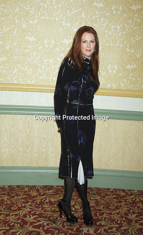 Julianne Moore ..at The New York Women in Film and Televison 25th Annual ..Muse Awards luncheon on December 13, 2005 at The New York Hilton Hotel. ..Photo by Robin Platzer, Twin Images