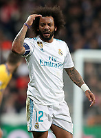 Real Madrid's Marcelo Vieira during Champions League Quarter-Finals 2nd leg match. April 11,2018. (ALTERPHOTOS/Acero) /NortePhoto.com