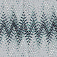 Twill Ombre. a hand-cut stone mosaic, shown in polished Kay's Green and Verde Alpi with honed Angora and Orpheus Black.