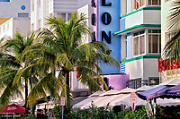 Art Deco district of South Beach,<br /> Miami Beach, Florida
