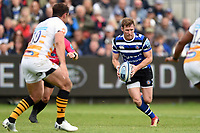 Will Chudley of Bath Rugby in possession. Gallagher Premiership match, between Bath Rugby and Wasps on May 5, 2019 at the Recreation Ground in Bath, England. Photo by: Patrick Khachfe / Onside Images