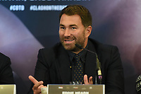 Eddie Hearn during a Press Conference at Hilton London Syon Park on 6th September 2019