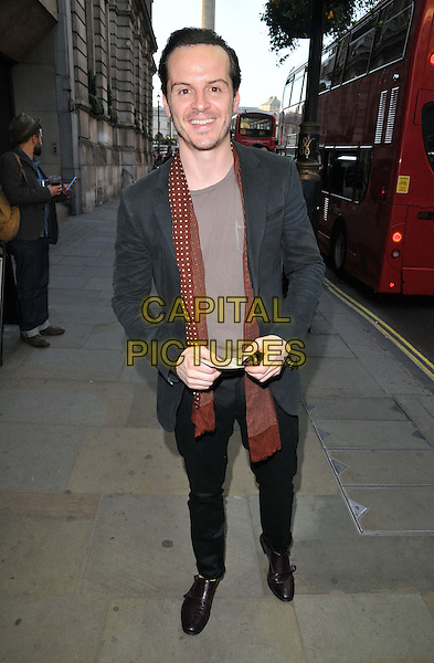 LONDON, ENGLAND - APRIL 22: Andrew Scott attends the &quot;Golem&quot; press night, Trafalgar Studios, Whitehall, on Wednesday April 22, 2015 in London, England, UK. <br /> CAP/CAN<br /> &copy;CAN/Capital Pictures