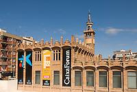Spanien, Barcelona, Austellungsgebäude Caixa Forum, Av.Marques de Comillas 6-8, ehemalige Textilfabrik erbaut von Puig i Cadafalch
