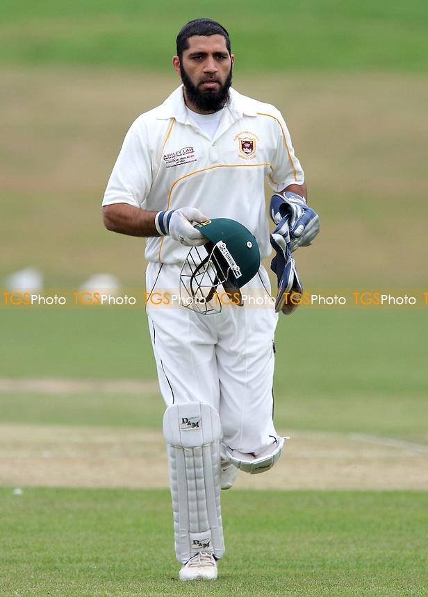 I Patel of Hainault - Ardleigh Green CC vs Hainault & Clayhall CC - Essex Cricket League- 08/09/07  - MANDATORY CREDIT: Gavin Ellis/TGSPHOTO - SELF-BILLING APPLIES WHERE APPROPRIATE. NO UNPAID USE. TEL: 0845 094 6026..