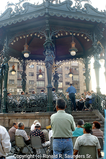 EACH WEEK LOCALS GATHER in the PARK in GUADALAJARA, MEXICO to RELAX and ENJOY GREAT CLASSICAL MUSIC on STAGE