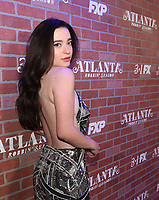 """LOS ANGELES - FEBRUARY 19: Mikey Madison arrives at the red carpet event for FX's """"Atlanta Robbin' Season"""" at the Ace Theatre on February 19, 2018 in Los Angeles, California.(Photo by Frank Micelotta/FX/PictureGroup)"""