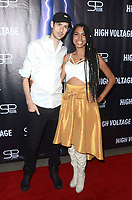"LOS ANGELES - OCT 16:  Chris Hayman, Michelle Delamor at the ""High Voltage"" Los Angeles Red Carpet Premiere at the TCL Chinese 6 Theater on October 16, 2018 in Los Angeles, CA"