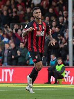 Bournemouth's Joshua King celebrates scoring his side's first goal <br /> <br /> Photographer David Horton/CameraSport<br /> <br /> The Premier League - Bournemouth v Arsenal - Sunday 25th November 2018 - Vitality Stadium - Bournemouth<br /> <br /> World Copyright &copy; 2018 CameraSport. All rights reserved. 43 Linden Ave. Countesthorpe. Leicester. England. LE8 5PG - Tel: +44 (0) 116 277 4147 - admin@camerasport.com - www.camerasport.com