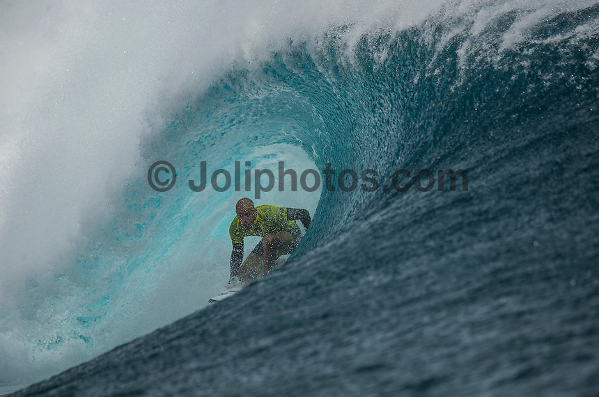 Namotu Island Resort, Namotu, Fiji. (Tuesday June 3 2014)  Kelly Slater (USA)  – The 2014 Fiji Pro was called on this morning with the swell running in the 3' plus range. The start was delayed till 10.30 am because of the 9.30 am high tide and then they ran the whole of Round 1. Photo: joliphotos.com, 2014) – The 2014 Fiji Pro was called on this morning with the swell running in the 3' plus range. The start was delayed till 10.30 am because of the 9.30 am high tide and then they ran the whole of Round 1. Photo: joliphotos.com June 2, 2014) – The 2014 Fiji Pro was called on this morning with the swell running in the 3' plus range. The start was delayed till 10.30 am because of the 9.30 am high tide and then they ran the whole of Round 1. Photo: joliphotos.com