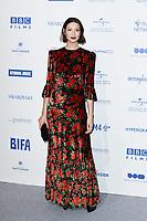 Caitriona Balfe<br /> arriving for the British Independent Film Awards 2019 at Old Billingsgate, London.<br /> <br /> ©Ash Knotek  D3541 01/12/2019