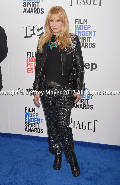SANTA MONICA, CA - FEBRUARY 25: Actress Rosanna Arquette attends the 2017 Film Independent Spirit Awards at the Santa Monica Pier on February 25, 2017 in Santa Monica, California.