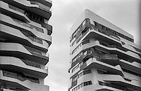 Milano, quartiere CityLife. Le residenze Hadid --- Milan, CityLife district. The Hadid Residences
