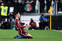 Sasa Lukic of Torino celebrates after scoring the goal of 0-1 <br /> Torino 3-5-2019 Allianz Stadium Football Serie A 2018/2019 Juventus - Torino <br /> Photo Matteo Gribaudi / Image Sport / Insidefoto