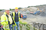 Charlie and Declan Farrell at their quarry in Lisselton.