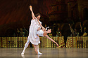 The Mikhailovsky Ballet present LAURENCIA at the London Coliseum. Picture shows  Natalia Osipova (Laurencia) and Ivan Vasiliev (Frondoso).