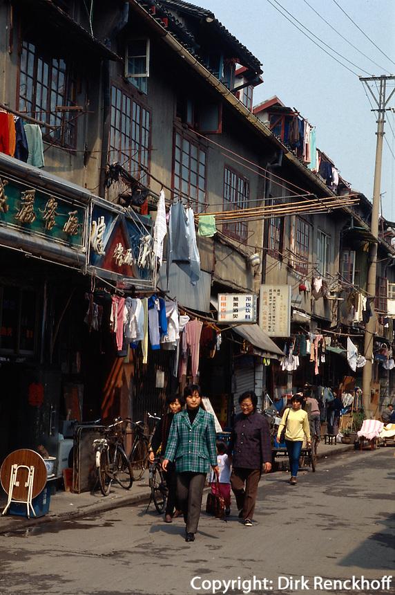 China, Shanghai, in der ehemaligen Chinesenstadt