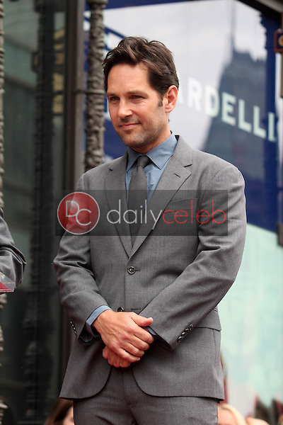 Paul Rudd<br /> at the Paul Rudd Star on the Hollywood Walk of Fame, Hollywood, CA 07-01-15<br /> Dave Edwards/DailyCeleb.com 818-249-4998