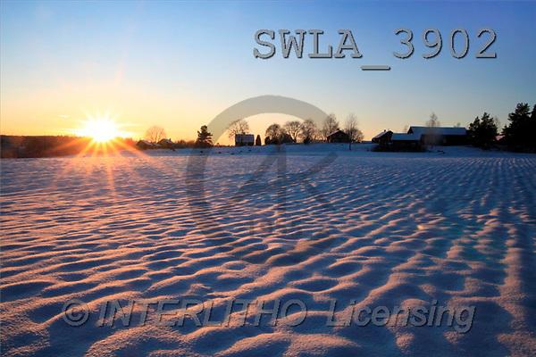 Carl, CHRISTMAS LANDSCAPE, photos(SWLA3902,#XL#) Landschaften, Weihnachten, paisajes, Navidad