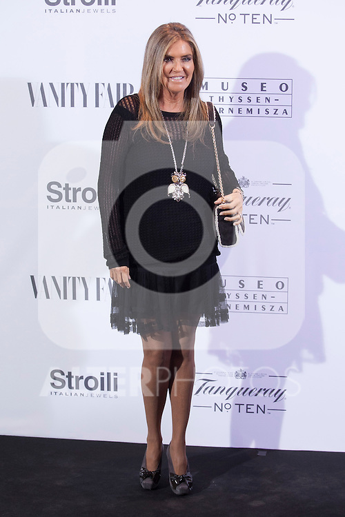 Susana Uribarri  poses during the 'HUBERT DE GIVENCHY' exhibition inauguration at THYSSEN-BORNEMISZA museum in Madrid, Spain. October 20, 2014. (ALTERPHOTOS/Victor Blanco)